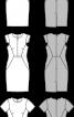Сукня-футляр з фігурними деталями - фото 3