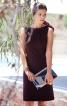 Сукня приталеного крою з боковими вставками - фото 1
