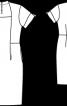 Сукня-футляр оригінального крою - фото 3