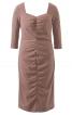 Сукня по фігурі з драпіровками - фото 2
