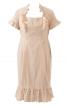 Сукня-футляр з оборками - фото 2