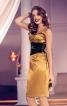 Сукня по фігурі з імітацією пояса-корсажа - фото 1