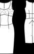 Сукня з широким декольте - фото 3