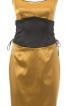 Сукня по фігурі з імітацією пояса-корсажа - фото 2