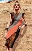 Сукня-футляр в стилі колор-блокінг - фото 1