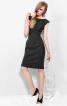 Сукня-футляр з рельєфними швами - фото 1