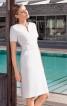 Сукня відрізна вузького крою з широким поясом - фото 1