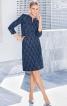 Сукня приталеного крою з рукавами 3/4 - фото 1