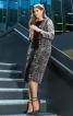 Злегка розкльошена сукня-футляр  - фото 1