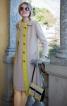 Сукня і пальто розкльошеного крою - фото 1