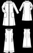 Сукня і пальто розкльошеного крою - фото 3