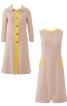 Сукня і пальто розкльошеного крою - фото 2