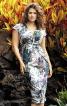 Сукня-футляр з V-подібним вирізом - фото 1