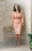 Сукня-футляр з ефектом корсажа - фото 1