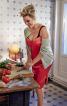 Сукня-бюстьє на вузьких бретелях - фото 1