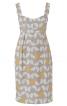 Сукня на бретелях з високою талією і вшитим поясом - фото 2