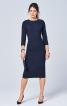 Сукня-футляр в стилі ретро з Burda 9/1957 - фото 1