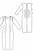 Сукня-футляр в стилі ретро з Burda 9/1957 - фото 3