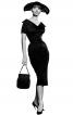 Сукня-футляр в стилі ретро з Burda 9/1957 - фото 6