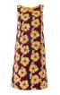 Сукня А-силуету з деталями зі шкіри - фото 2