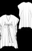 Сукня-каптан з V-подібним-вирізом - фото 3