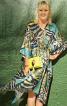 Сукня-каптан з V-подібним-вирізом - фото 1