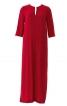 Сукня-каптан з рукавами 3/4 і розрізами - фото 2