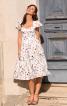 Сукня-корсаж з рукавами-крильцями - фото 1