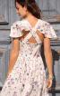 Сукня-корсаж з рукавами-крильцями - фото 4