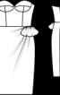 Сукня коктейльна на корсажній основі - фото 3