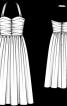 Сукня-корсаж з пишною спідницею - фото 3