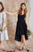 Сукня-бюстьє з асиметричним низом - фото 1