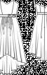 Сукня-бюстьє з асиметричним низом - фото 3