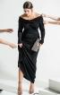 Сукня максі А-силуету зі знімною деталлю - фото 1