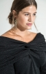Сукня максі А-силуету зі знімною деталлю - фото 4