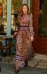 Закрита  довга сукня із комірцем стійкою  - фото 1