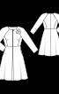 Сукня-пальто з рукавами реглан 7/8 - фото 3