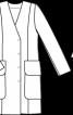 Сукня-пальто зі знімним поясом - фото 3