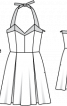Сукня-сарафан з ліфом-корсажем - фото 3