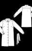 Сукня-сорочка з відкладним коміром і поясом - фото 3