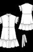 Сукня з пишними оборками - фото 3