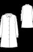 Платье-туника рубашечного кроя - фото 3