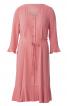 Сукня з V-подібним вирізом і воланами - фото 2