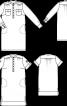 Сукня-сорочка з вишитого лляного полотна - фото 3