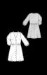 Сукня-сорочка з анімалістичним принтом - фото 3