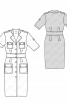 Сукня-сорочка в стилі сафарі - фото 3