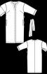 Сукня сорочкового крою без коміра - фото 3