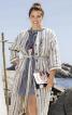 Сукня сорочкового крою без коміра - фото 1
