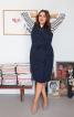 Сукня двобортна в стилі тренчкота - фото 1