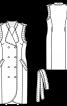 Сукня-жилет двобортна - фото 3